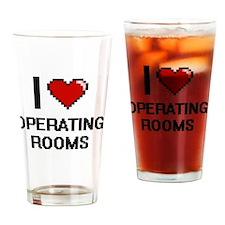 Cute Heart surgery Drinking Glass