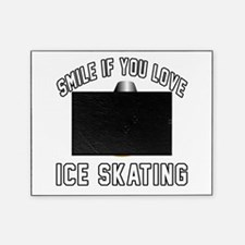 Ice Skating Smiley Sports Designs Picture Frame