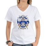 Maranon Family Crest Women's V-Neck T-Shirt
