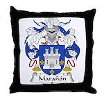 Maranon Family Crest Throw Pillow
