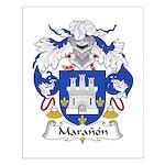 Maranon Family Crest Small Poster