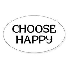 Choose Happy Decal