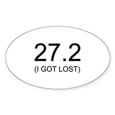 27.2 (I Got Lost) Decal