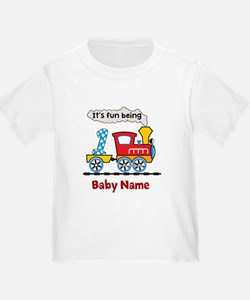 baby 1st Birthday custom add name T