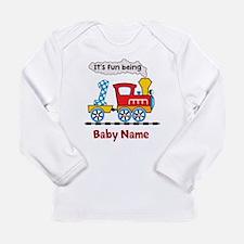 baby 1st Birthday custo Long Sleeve Infant T-Shirt