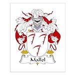 Mallol Family Crest Small Poster