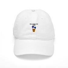 Will Work for Yarn Baseball Cap