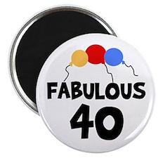 Fabulous 40 Magnet