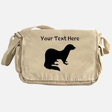 Ferret Silhouette Messenger Bag
