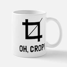 Oh crop! Small Small Mug