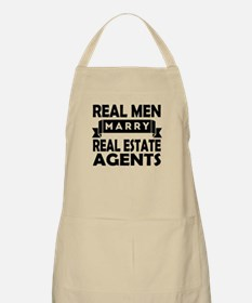 Real Men Marry Real Estate Agents Apron