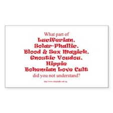 LSL Quote Only Rectangle Decal