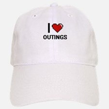 I Love Outings Baseball Baseball Cap