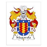 Magarola Family Crest Small Poster