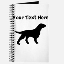 Flat-Coated Retriever Silhouette Journal