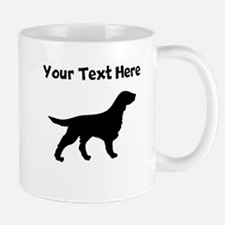 Flat-Coated Retriever Silhouette Mugs