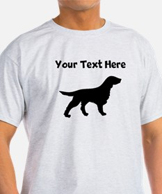 Flat-Coated Retriever Silhouette T-Shirt