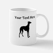 Greyhound Silhouette Mugs