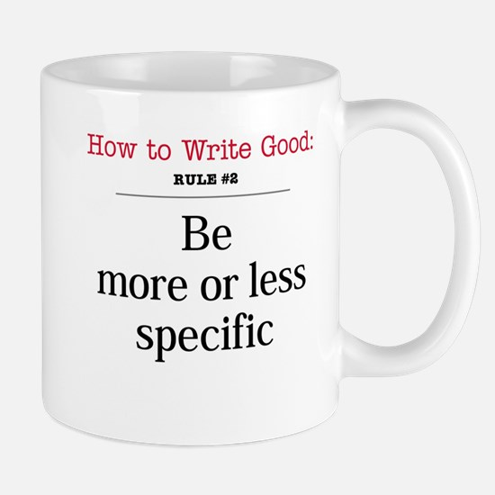 More or less specific -  Mug