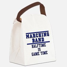 Halftime Is Game Time Canvas Lunch Bag