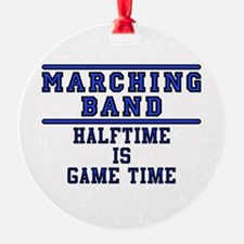Halftime Is Game Time Ornament