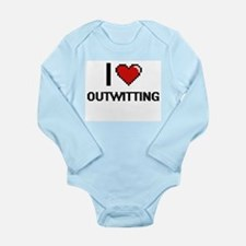 I Love Outwitting Body Suit