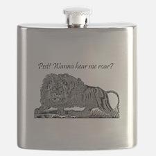 Psst! Wanna hear me roar? LION Flask