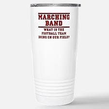 Football On Our Field Travel Mug