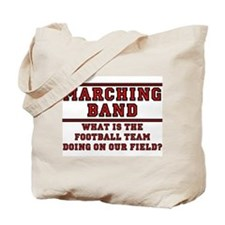 Football On Our Field Tote Bag