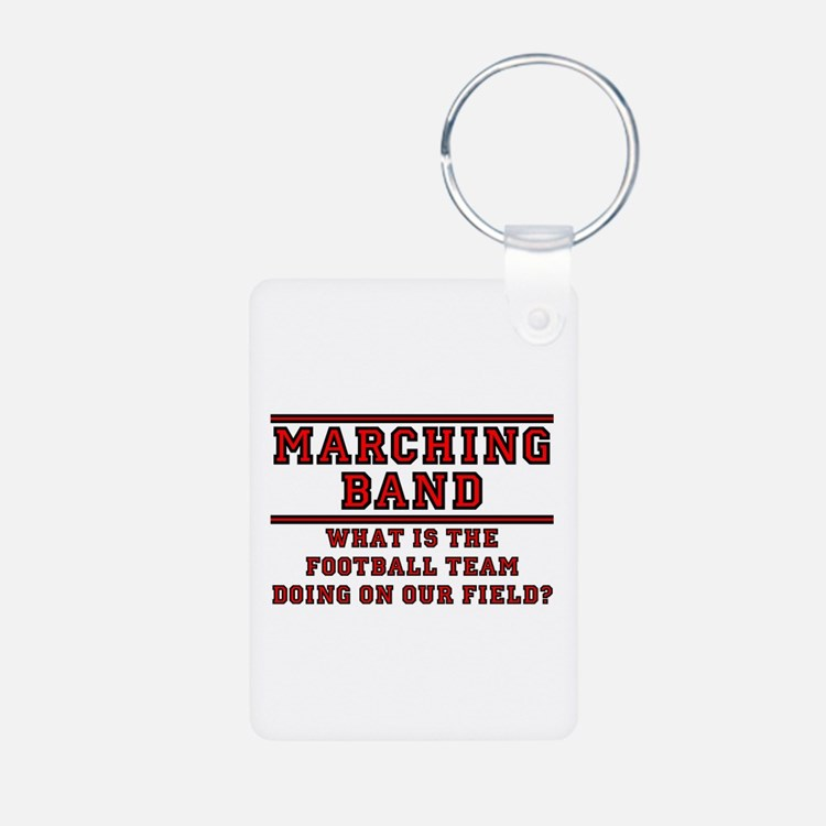 Football On Our Field Keychains
