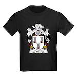 Machin Family Crest Kids Dark T-Shirt