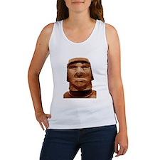 Trump Easter Island Head Tank Top