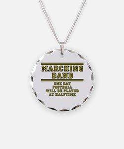 Football At Halftime Necklace