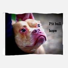Pit bull rescue Pillow Case