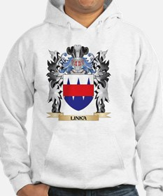 Linka Coat of Arms - Family Cres Hoodie