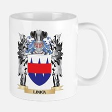 Linka Coat of Arms - Family Crest Mugs