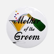 Mother of the Groom Ornament (Round)