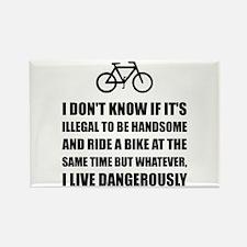 Handsome Ride Bike Magnets