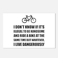 Handsome Ride Bike Postcards (Package of 8)