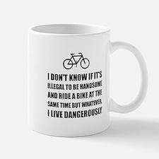 Handsome Ride Bike Mugs