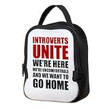 Humorous Neoprene Lunch Bag