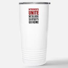 Introverts Unite Travel Mug