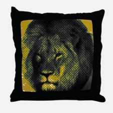 Tribute To Cecil The Lion Throw Pillow
