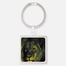 Tribute To Cecil The Lion Square Keychain