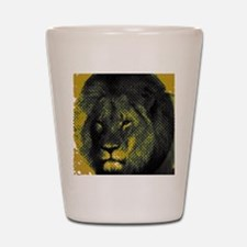 Tribute To Cecil The Lion Shot Glass