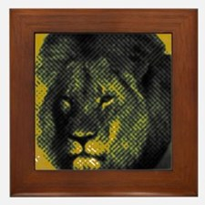Tribute To Cecil The Lion Framed Tile