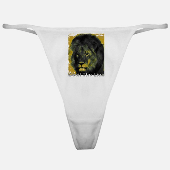 Tribute To Cecil The Lion Classic Thong