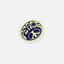 Vintage Peace Symbol #V9 Mini Button