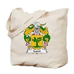 Loret Family Crest Tote Bag