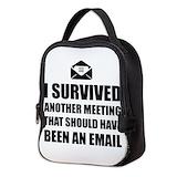 Funny Neoprene Lunch Bag